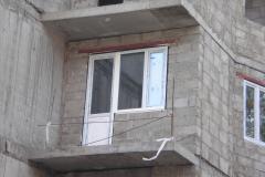 Остекление жилого дома в Дмитрове