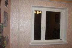 Откосы на деревянных окнах