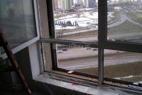 Защита окон фасадным герметиком