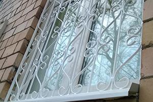 Решётки на окна - изготовление и установка